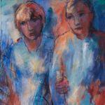 Ella Nicola exelmans galerie kunstgalerie beeldentuin belgië
