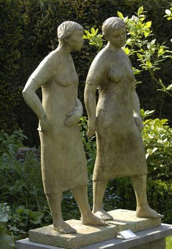 Jozef Van Acker exelmans galerie kunstgalerie beeldentuin belgië