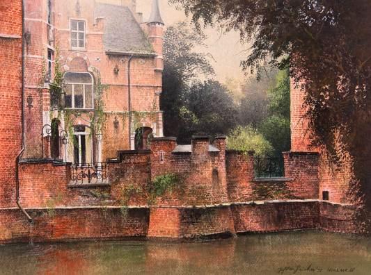 Jef Van Grieken exelmans galerie kunstgalerie beeldentuin belgië